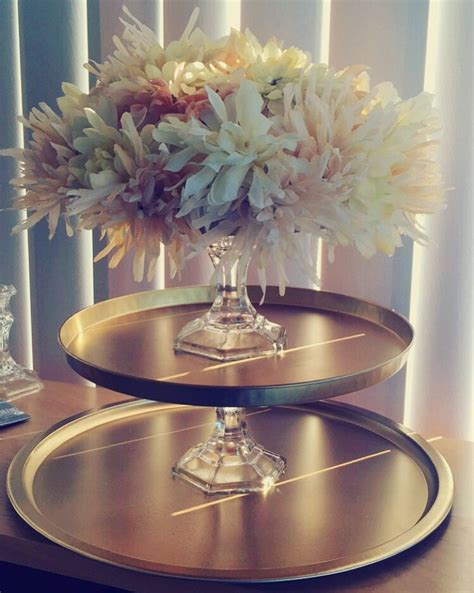 so these are centerpieces i made from things all from the dollar tree for 25 just used