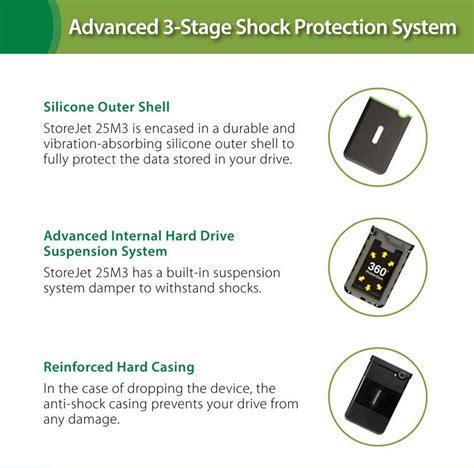 Hardisk Eksternal 1 Antishock transcend storejet 1tb portable external hardisk 25m3 usb 3 0