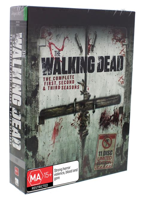 The Walking Dead The Complete 3rd Season Dvd New Sealed the walking dead season 1 3 box set dvd buy now at