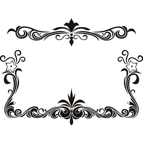 black and white floral pattern name black flower page borders design sadiakomal border