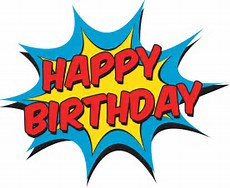 Image result for Happy Birthday superhero clip art