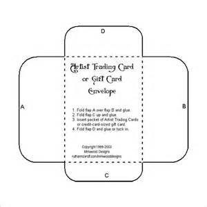 free gift card template 10 gift card envelope templates free printable word