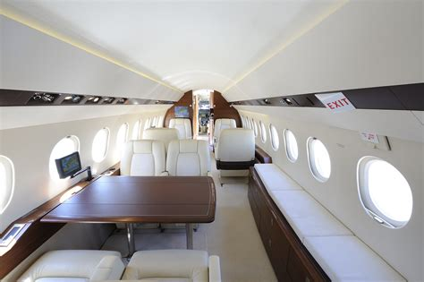 Falcon 900 Interior by Falcon 900 Ex Dx Direct Air Charter Charter Broker Uk