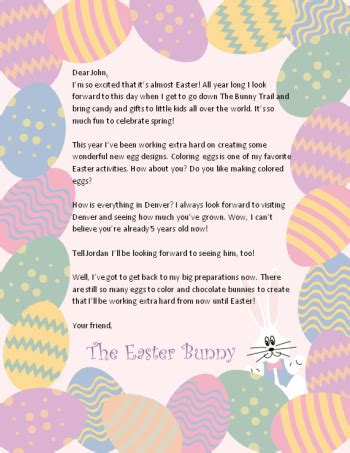 free printable letters easter bunny 100 great easter free printables easter bunny easter