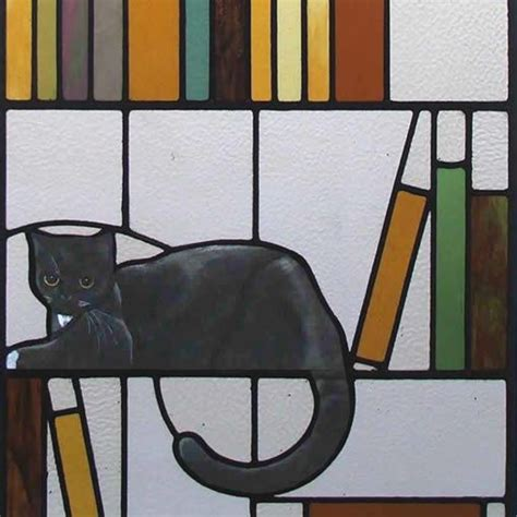 stained glass cat l 289 best stained glass cats and dogs images on pinterest