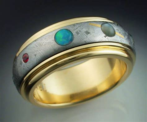 Ets  Ee  Ring Ee   With Spinning Meteorite  Ee  Band Ee