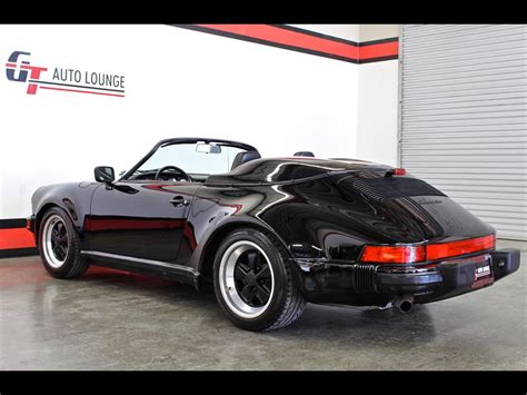 1989 porsche speedster for sale 1989 porsche 911 speedster for sale in rancho