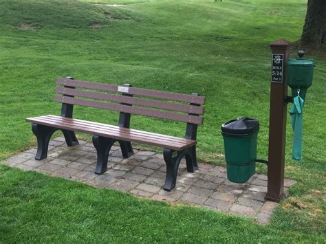 memorial benches and plaques new benches