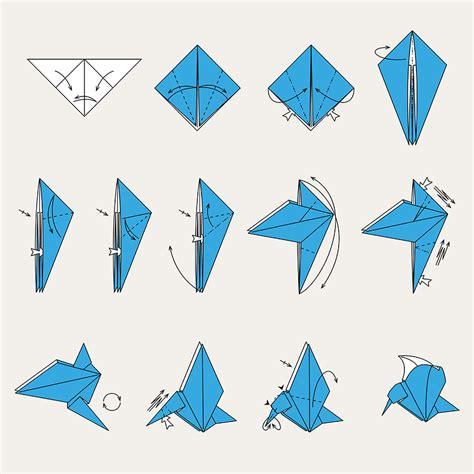Origami Quail - origami faltanleitungen kranich brokolinos kinderwelt de