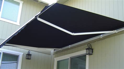 diy folding arm awnings diy folding arm awning 3m wide x 2 5m projection black