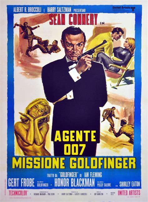 libro goldfinger james bond 007 averardo ciriello original vintage 007 james bond movie poster goldfinger starring sean