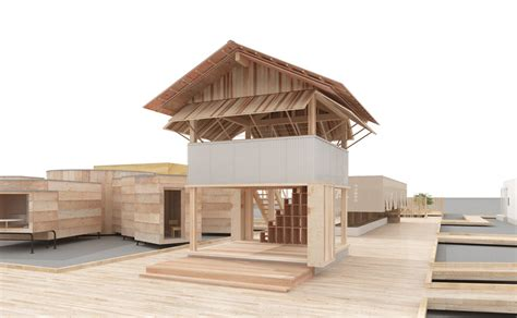 new vision house of hope muji x atelier bow wow s rice field office for house vision