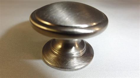 Brushed Nickel Knobs For Kitchen Cabinets Knob Brushed Nickel Kitchen Cabinet Drawer Door Bar Handle Pull Ebay