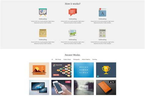 start responsive one page template website templates