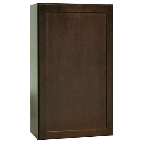 Shaker Cabinets Home Depot by Hton Bay 24x30x12 In Shaker Wall Cabinet In Satin