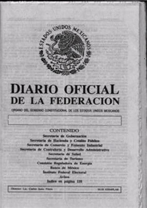 Dof Diario Oficial De La Federacin   terzer log 237 stica blog dof el diario oficial de la