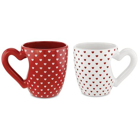 heart pattern mugs heart mug set kovot