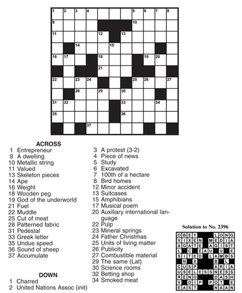 easy crossword puzzles answers auspac media the feature people