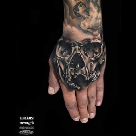 hand skeleton tattoo skull best ideas gallery