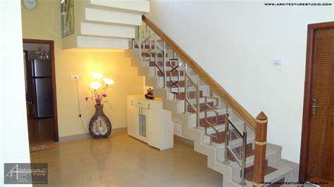 kerala home design staircase arkitecture studio exterior and interior designers calicut