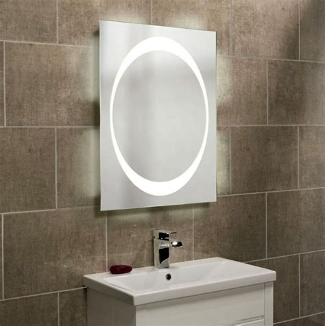 illuminated mirrors for bathrooms roper rhodes clarity equator backlit mirror uk bathrooms
