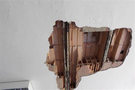 intonaco stato per interni verifica distacco rivestimenti intonaco e sfondellamenti