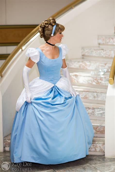 kay dee collection costumes cinderella blue ball gown