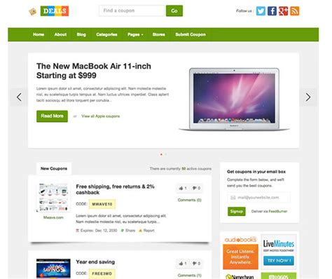 theme junkie videoz deals th 232 me de coupon r 233 duction pour wordpress