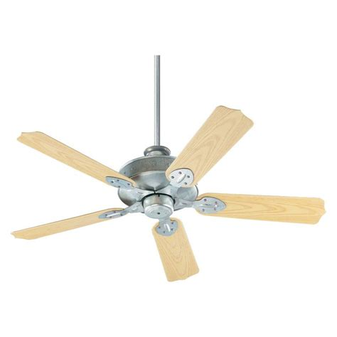 country ceiling fans quorum international 137525 9 galvanized energy