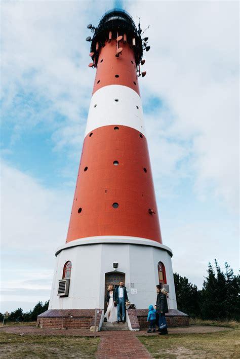 Hochzeit Leuchtturm eine intime hochzeit im leuchtturm h 246 rnum auf sylt