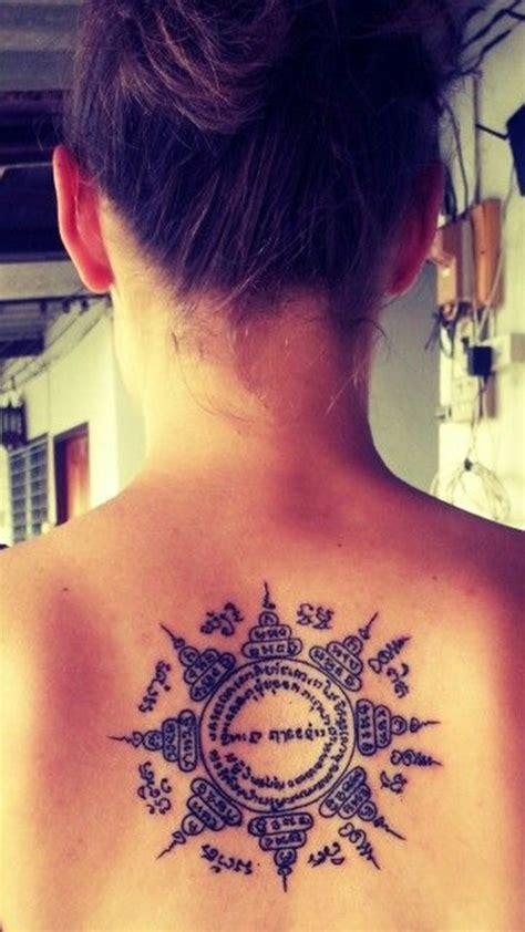 yantra tattoo neck 40 rare sak yant tattoos by thai monks no ordinary ink