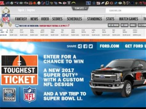 Win Super Bowl Tickets 2016 Sweepstakes - nfl toughest ticket sweepstakes sweepstakes fanatics