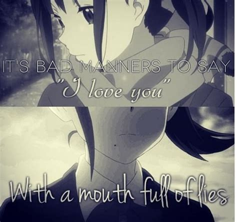 anime quotes about love sad love quotes sad love sayings sad love picture