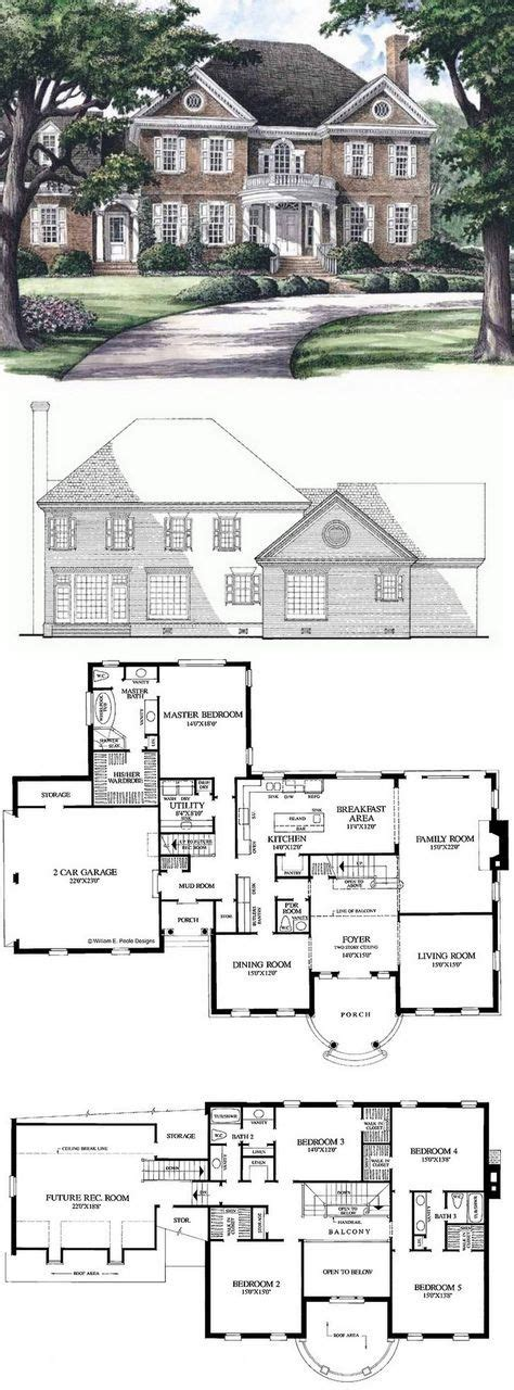 georgian home plans 2018 plans maison en photos 2018 georgian house plan with 3951 square and 5 bedrooms from
