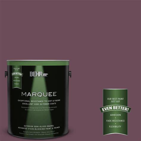 behr paint colors plum behr marquee 1 gal ppu1 20 spiced plum semi gloss enamel