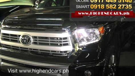 toyota us1 2014 toyota tundra 1794 limited edition philippines www