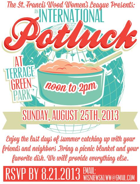 free templates for potluck flyers potluck dinner flyer images