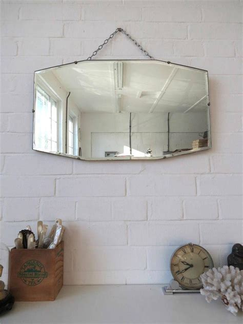 frameless wall mirrors art deco mirrors bathroom mirrors vintage art deco bevelled edge wall mirror or frameless