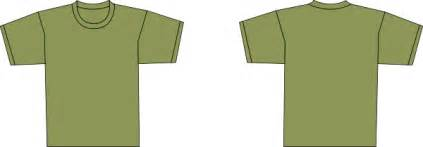 army green shirt clip art at clker com vector clip art