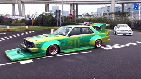 modded cars video japan s weird modified cars are the weirdest