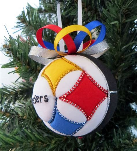 steelers christmas ornament