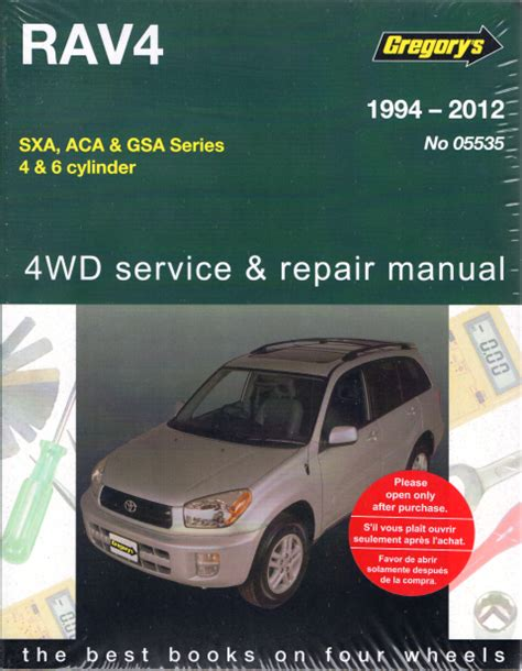 auto repair manual free download 2012 toyota rav4 engine control toyota rav4 1994 to 2012 gregorys service repair manual sagin workshop car manuals repair
