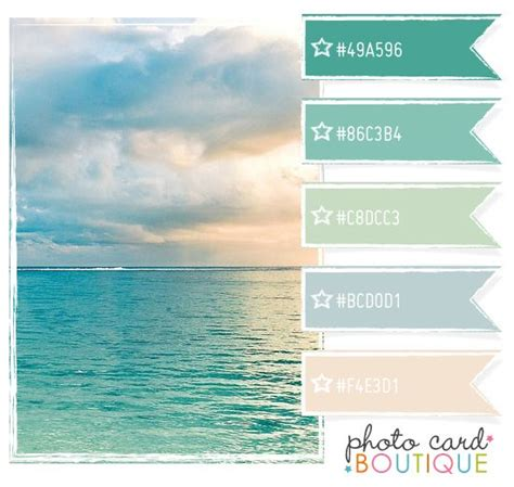 relaxing color schemes 1000 ideas about beach color palettes on pinterest