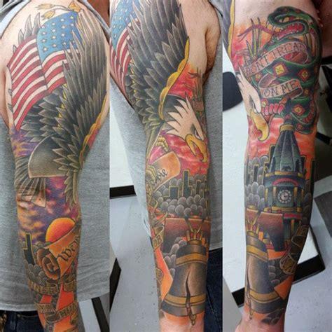 american pride tattoo american sleeve tattoos www pixshark images