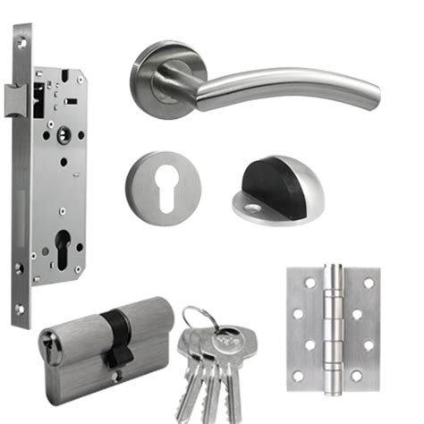 Kunci Pintu Handle Door Lock 1 Set Tanggung Empoli Stirling Cp yale doorlock