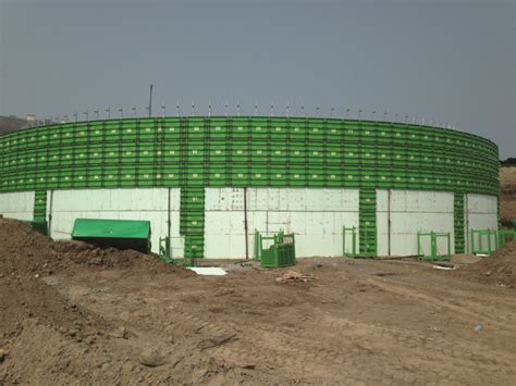 vasche biogas casseforme cemento armato vasche biogas circolari