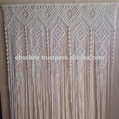 tende macrame large macrame wedding backdrop curtains wedding macrame