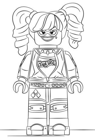 batman harley quinn coloring pages lego harley quinn coloring page free printable coloring