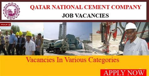 Vacancies For Mba Freshers In Qatar by Qatar National Cement Company Releases Mega Placements