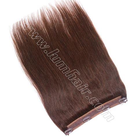 flip in hair wholesale human halo hair 2 6 grade 6a silky straight